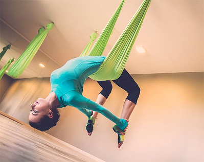 Aerial Yoga and your aching back